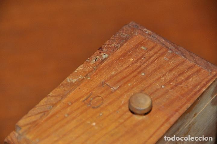 Vintage: Caja en madera nº 51 - Foto 6 - 253249730