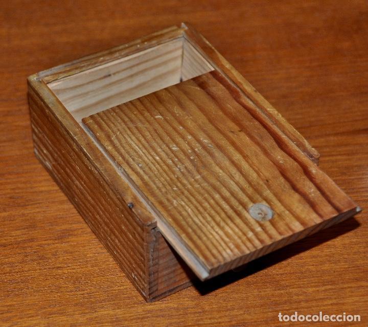 Vintage: Caja en madera número 56 - Foto 4 - 253250100