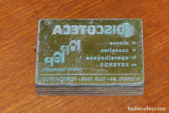 SELLO PUBLICIDAD 6 (Vintage - Varios)