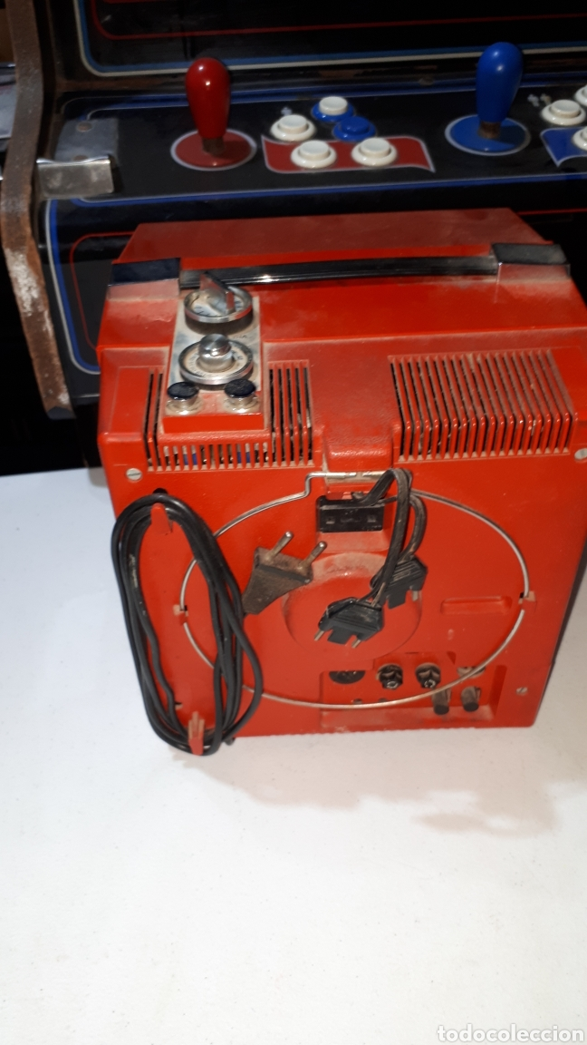 Vintage: Antigua televisión de viaje con fundar inter - Foto 3 - 253804725
