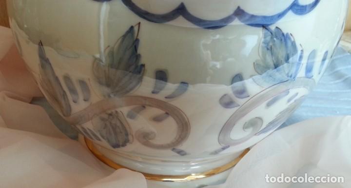 Vintage: Jarra de agua gigante. Cerámica policromada. - Foto 6 - 254322350