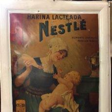 Vintage: ANTIGUA PROPAGANDA DE CHAPA. HARINA LACTEADA NESTLE. Lote 254567950