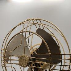 Vintage: ANTIGUO VENTILADOR VINTAGE. SICE. GENERAL ELECTRIC. ALTURA 34 CMS. COLOR BEIGE. SIN PROBAR. Lote 254758250