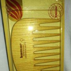 Vintage: PEINE BAMAR VINTAGE, MADERA FRESNO, PRECINTADO.. Lote 257350305