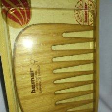 Vintage: PEINE BAMAR VINTAGE, MADERA FRESNO, PRECINTADO.. Lote 257351325