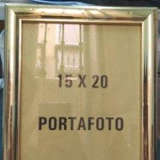 Vintage: MARCO PORTAFOTO VINTAGE NUEVO A ESTRENAR DE TIENDA MEDIDA FOTO 15X20. Lote 257427780
