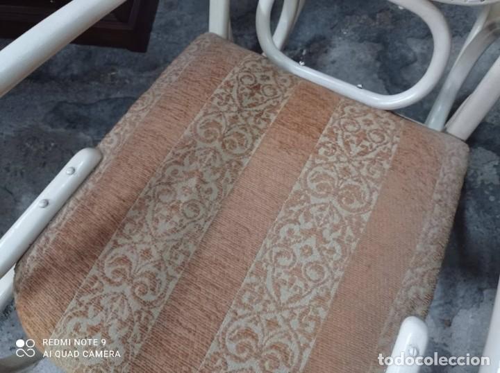 Vintage: MECEDORA TONET LACADA EN BLANCO HUESO - Foto 4 - 258508270