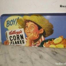 Vintage: MUY VINTAGE BANDEJA CORN FLAKES DE KELLOGG´S (AÑOS 90) CEREALES KELLOGS - RETRO - NIÑO. Lote 260052405