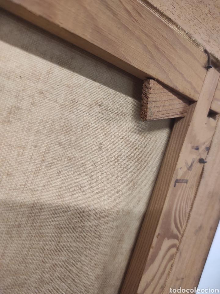 Vintage: Marco de madera la pintura tiene algo de restauración tal cual fotografías medidas 73 x 61,5 - Foto 4 - 288614178