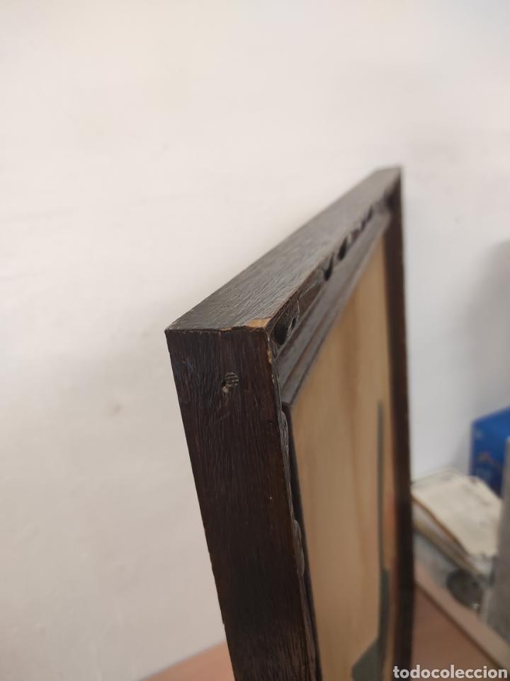 Vintage: Marco de madera la pintura tiene algo de restauración tal cual fotografías medidas 73 x 61,5 - Foto 5 - 288614178