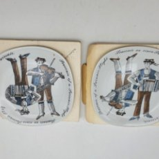 Vintage: LOTE DE PLATOS DECORATIVOS SOUVENIR SWISS ( PLATOS IGUALES ). Lote 262688345