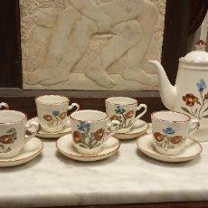 Vintage: BONITO JUEGO DE TE. JUEGO DE CAFE GRES 15 PIEZAS. PORCELANA.. Lote 262942130