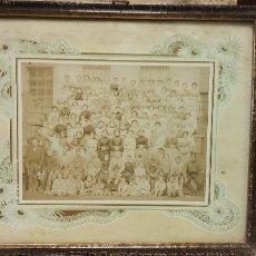 Vintage: BONITA FOTOGRAFIA ANTIGUA. MUY VINTAGE. MEDIDAS 37*32 CM.. Lote 262945500
