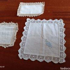 Vintage: TAPETE BOTES O MERMELADAS HECHOS A MANO. Lote 262951410