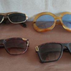 Vintage: 4 GAFAS DE SOL VINTAGE.. Lote 263897325