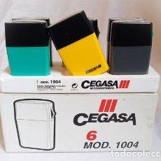 Vintage: CAJA DE LINTERNAS CEGASA AÑOS 90 MADE IN SPAIN ENERGIZER TXIMIST WONDER TUDOR JUPITER LINX EVEREADY. Lote 264694344