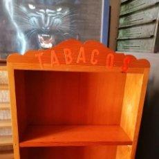 Vintage: EXPOSITOR DE MADERA TABACOS. Lote 264729509