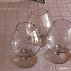 Vintage: 3 COPAS DE BRANDY/COGNAC VARIADAS. Lote 266313638