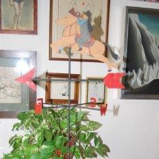 Vintage: VELETA - MENSAJERO A CABALLO - CORREOS - 67 CM. Lote 266557383