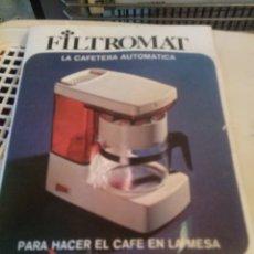 Vintage: CAFETERA MAGEFESA ELECTRICA AÑOS 70 SIN USAR. Lote 267674079