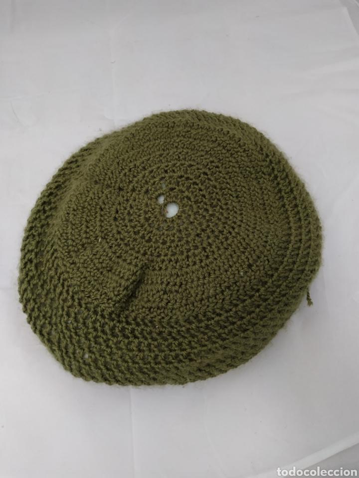 Vintage: cojín redondo de lana, punto, vintage - Foto 3 - 268178659