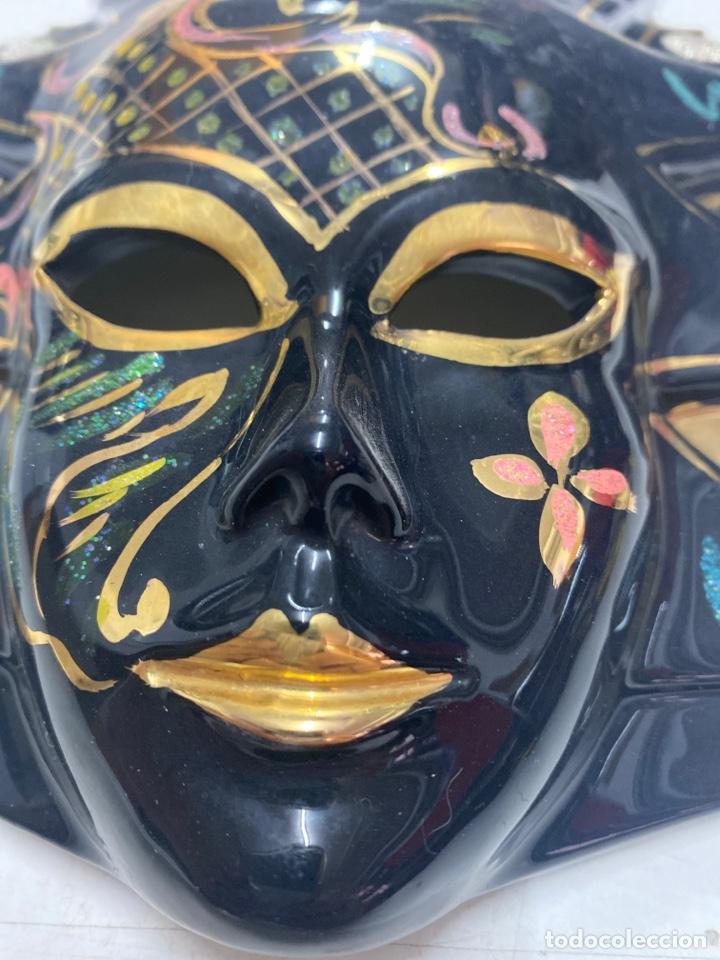 Vintage: Mascara de porcelana - Foto 3 - 268619269