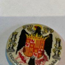 Vintage: ANTIGUO PIN ALFILER O BADGE AÑOS 40 - CON EL ESCUDO DE LA NUEVA ESPAÑA -. Lote 268928054