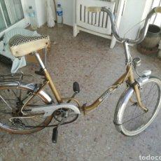 Vintage: BICICLETA PLEGABLE AÑOS 60. Lote 268983624