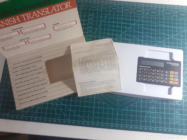 Vintage: Spanish Translator Seiko instruments - Foto 3 - 269484428