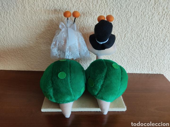 Vintage: Novios de peluche caracoles - Foto 4 - 270662423