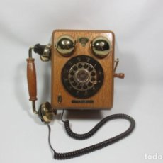 Vintage: TELÉFONO RETRO VINTAGE MADERA. Lote 274611848
