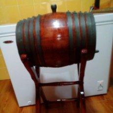 Vintage: TONEL BARRICA MADERA DE ROBLE. Lote 275280043