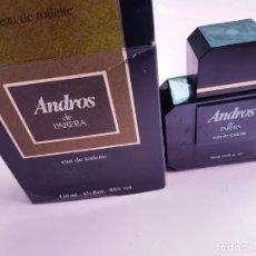 Vintage: COLONIA-ANDROS DE PARERA.110 ML-NUEVA-PERFECTA-CAJA-COLECCIONISTAS-DESAPARECIDA.. Lote 275790503