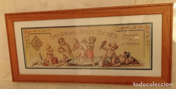 Vintage: PAREJA CUADROS DECORATIVOS WC - Foto 3 - 275959618