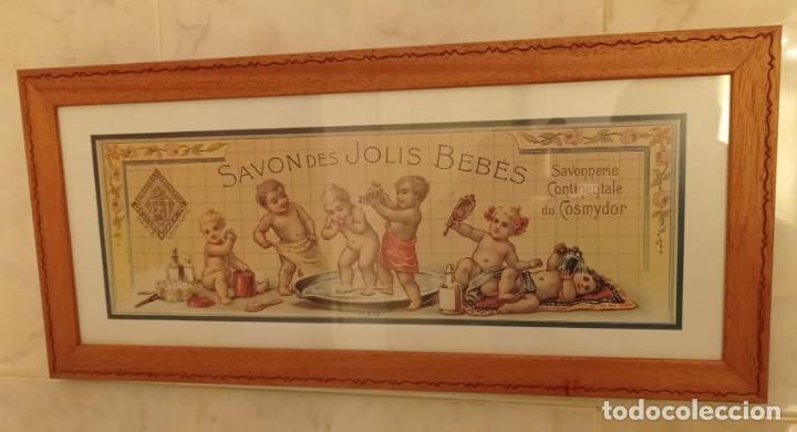 Vintage: PAREJA CUADROS DECORATIVOS WC - Foto 7 - 275959618