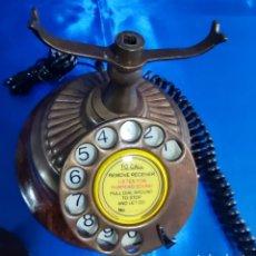 Vintage: REPLICA TELÉFONO ANTIGUO CON DIAL. Lote 275966373