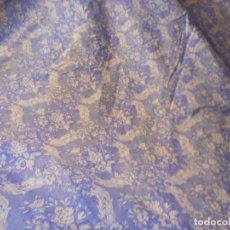 Vintage: PRÁCTICA FUNDA, SABANA. COLOR AZUL. MEDIDAS 160*210 CM. Lote 276679948