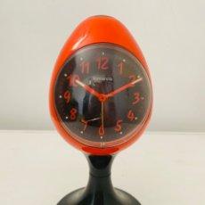 Vintage: NORMANDIA EGG ALARM CLOCK SPACE AGE. Lote 277245833