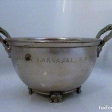 Vintage: BOL, CUENCO O TROFEO GRABADO GIL Y CARVAJAL, S.A.. Lote 277838693