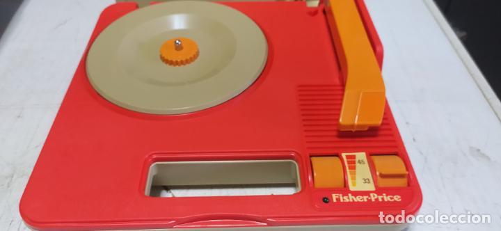 Vintage: fisher-price portable record player tocadiscos a pilas nuevo en su caja 1983 hong kong - Foto 6 - 278425483