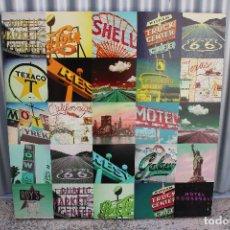 Vintage: CUADRO MURAL CARTELES RETRO, LA PUBLICIDAD DE SIEMPRE •. Lote 278867923