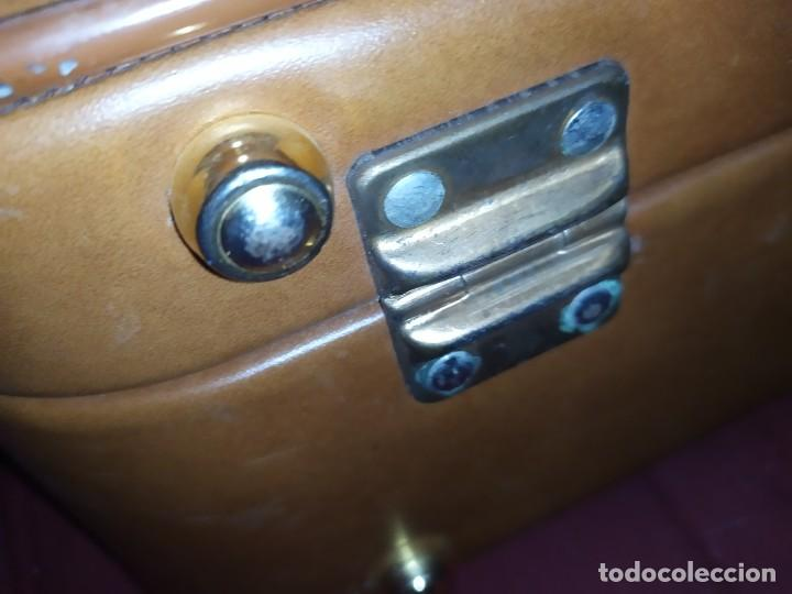 Vintage: ANTIGUA VINTAGE MALETA FIN DE SEMANA MARCA EL CID BUEN ESTADO - Foto 3 - 287694728