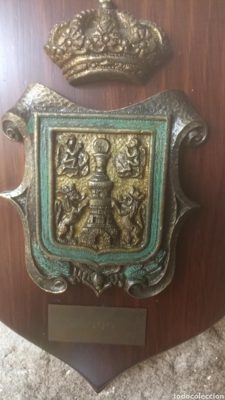 Vintage: Metopa escudo de Lugo - Foto 3 - 287703503