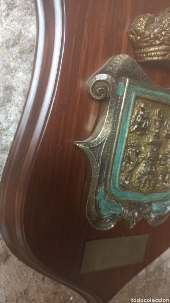 Vintage: Metopa escudo de Lugo - Foto 4 - 287703503