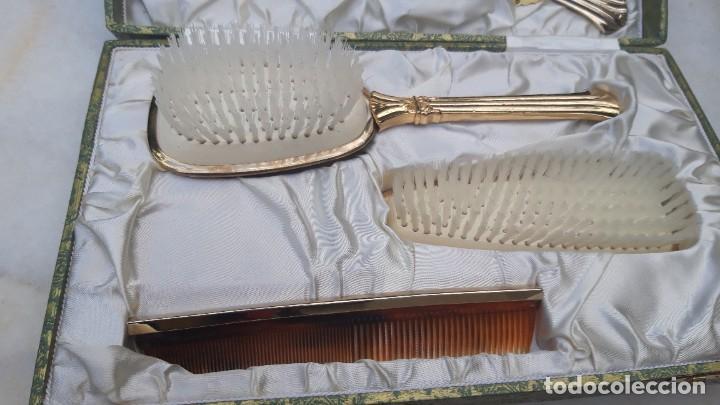 Vintage: Juego de tocador, hacia 1960 70. - Foto 4 - 287791278