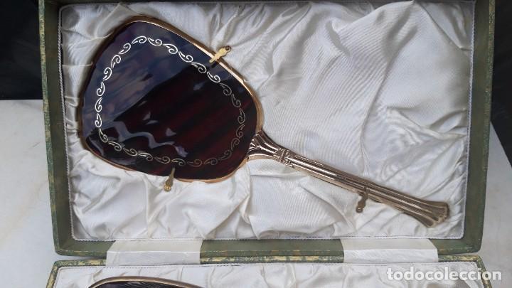 Vintage: Juego de tocador, hacia 1960 70. - Foto 8 - 287791278
