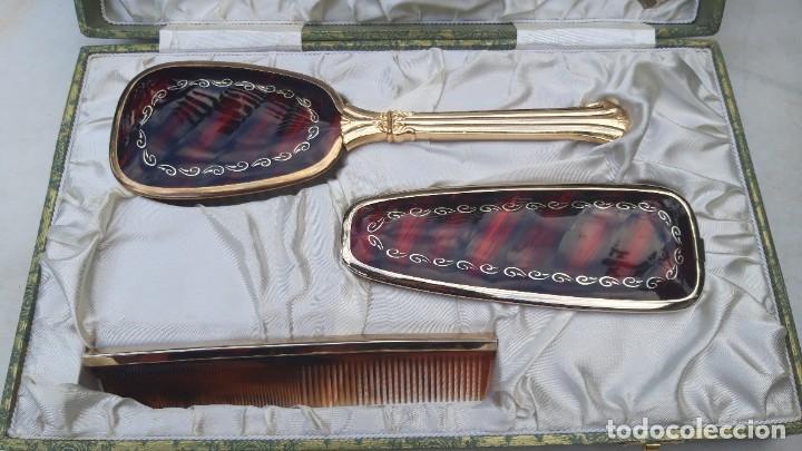 Vintage: Juego de tocador, hacia 1960 70. - Foto 9 - 287791278