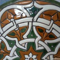 Vintage: CERÁMICA DE CUERDA SECA DE TOLEDO. Lote 288472148