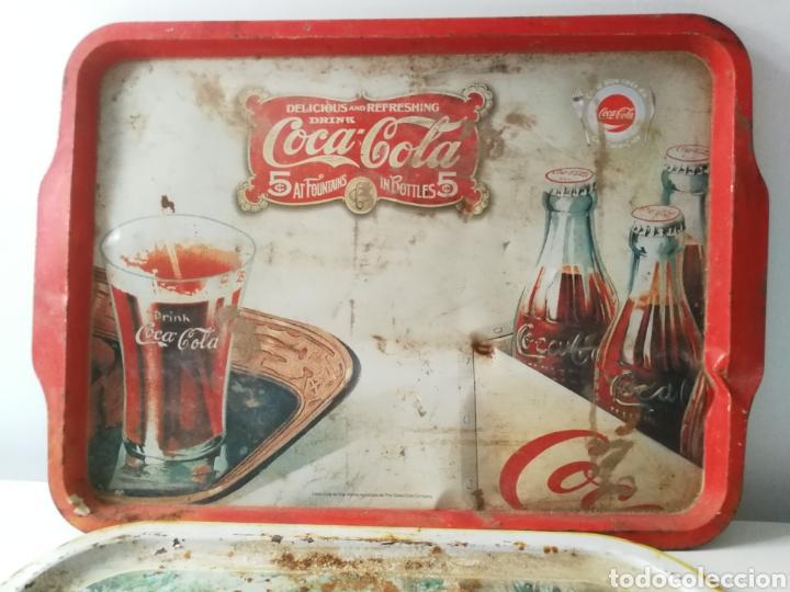 Vintage: Bandejas de hojalata vintage Coca Cola y BMW - Foto 2 - 288608963
