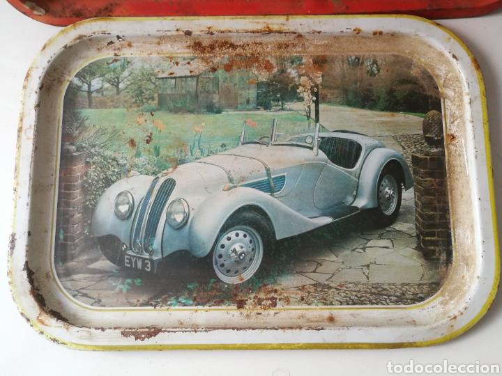 Vintage: Bandejas de hojalata vintage Coca Cola y BMW - Foto 5 - 288608963